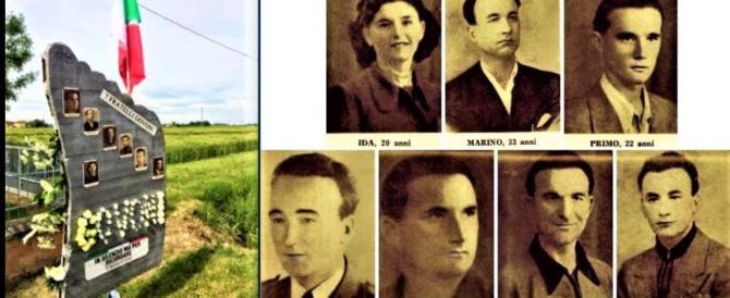 I sette fratelli Govoni, uccisi dopo una notte di torture dai partigiani rossi