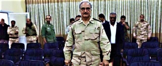 Libia, il generale Haftar accusa: il Qatar e altri finanziano i terroristi