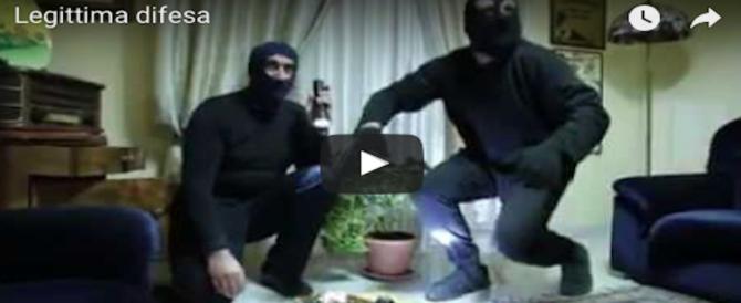 Legittima difesa, impazza sul web il video tutto da ridere contro la legge