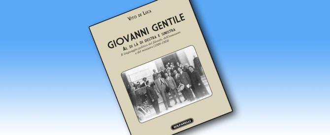 Quando Gentile era consigliere comunale a Roma: una storia inedita