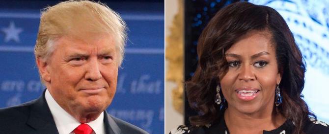 Scintille Trump-Michelle Obama: cibo sano a scuola? Finisce nella pattumiera
