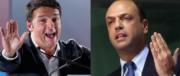 Legge elettorale, Alfano e Renzi ai ferri corti. E il M5S incontra il Pd