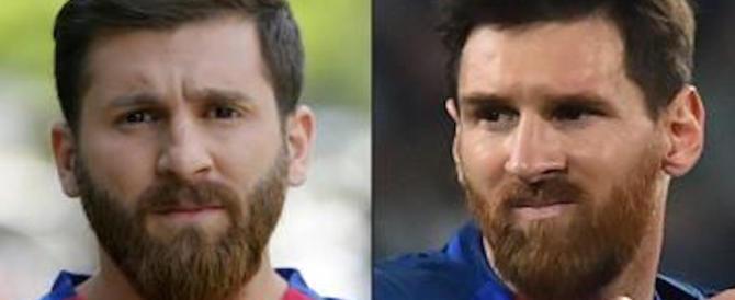 """Ecco il sosia iraniano di Leo Messi: quando si dice """"due gocce d'acqua"""""""