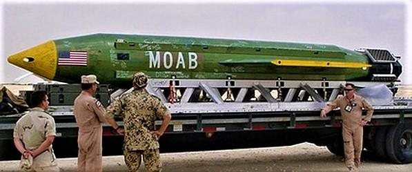 "Afghanistan, era un bluff la cosiddetta ""superbomba"" Moab americana"