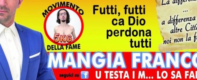 Palermo al voto tra sfottò, candidati fake e invasione di manifesti abusivi