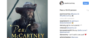 """Paul McCartney si scopre filibustiere: è nel cast di """"Pirati dei Caraibi"""" (video)"""