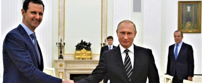 """Putin cala le carte: """"Ecco il mio piano per la de-escalation in Siria"""""""