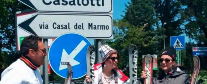 """La Raggi prepara altre 2 funivie per Roma. FdI: """"Fai il sindaco a Madonna di Campiglio"""""""