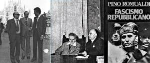 Quella volta che Pino Romualdi fu messo al muro dai partigiani rossi