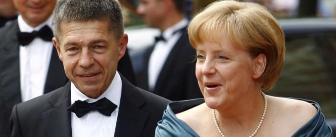 G7, il marito della May lascerà solo tra le donne il consorte di Angela Merkel