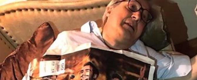 Vittorio Sgarbi di nuovo contro Il Volo: ho scoperto che servono a qualcosa…