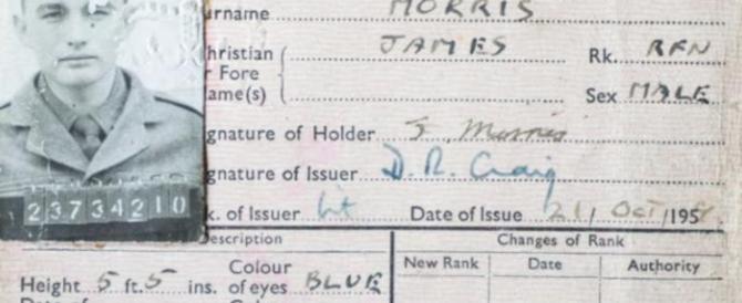 Soldato inglese da record: 54 anni in ospedale. Tutto iniziò con una gamba rotta