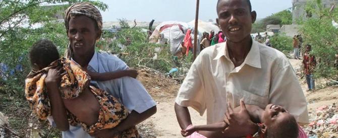 Dopo la fuga dell'Occidente, in Somalia milioni di bambini rischiano di morire