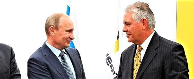 Usa-Russia, ramoscello d'ulivo da Trump a Putin (tramite Tillerson)