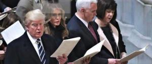 Inizia oggi il viaggio di Trump attraverso le tre grandi religioni