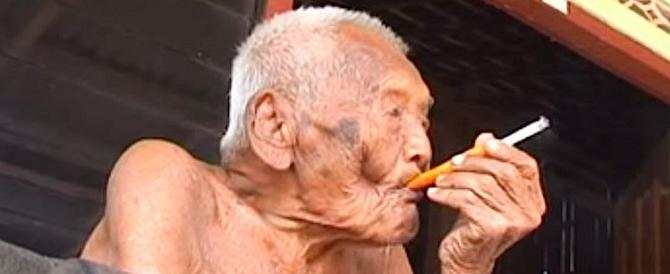 Muore a 146 anni il più vecchio del mondo. Era un accanito fumatore…