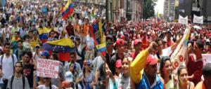Venezuela, oggi marciano le donne. Ma per Maduro chi protesta è fascista