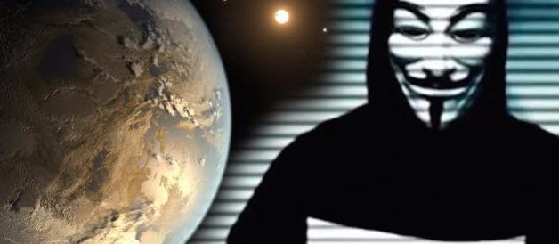 Anonymous: «La Nasa sta per annunciare l'esistenza degli alieni» (video)
