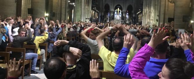 Parigi, sparatoria a Notre Dame: 900 persone chiuse nella cattedrale