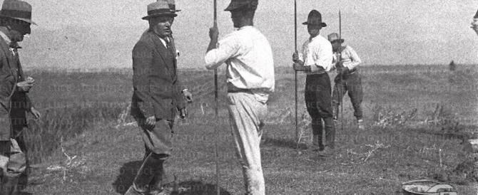 Oltraggio al Duce: realizzata una piantagione di cannabis nel Canale Mussolini