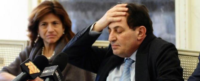 Sicilia, Crocetta indagato: piange e attacca tutti, anche i suoi assessori
