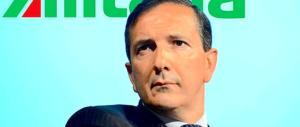 Alitalia, rotolano le prime teste: via il 25% dei manager e tagli ai costi