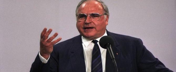 È morto l'ex cancelliere Helmut Kohl, il padre nobile della riunificazione tedesca