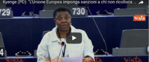 A Strasburgo la Kyenge spinge per ricollocare i profughi