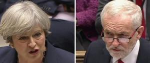 Elezioni GB, exit poll choc: la May in testa, ma non ha la maggioranza