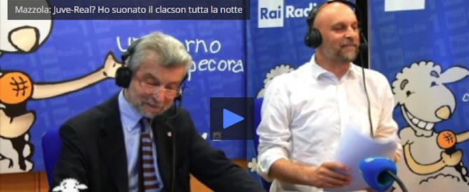 """Mazzola: """"Juve-Real? Ho suonato il clacson per tutta la notte"""" (video)"""