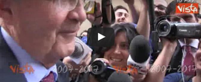 Una buona notizia: Prodi farà il pensionato. «Basta Ulivo, io non servo più» (video)