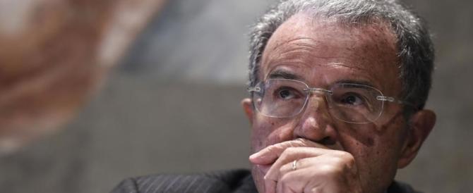 Prodi sbaglia anche colla: confonde il Vinavil con il Bostik
