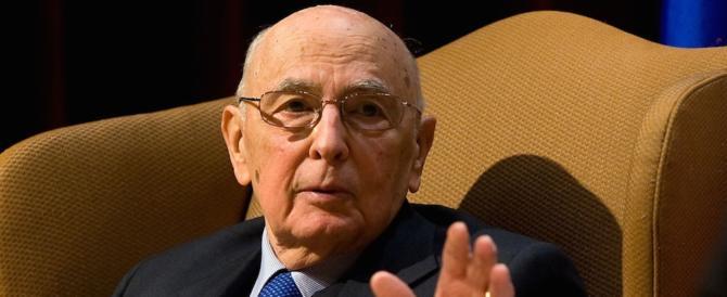 Bufera sulla maxi scorta di Napolitano: 45 agenti, più di quando Re Giorgio era al Colle