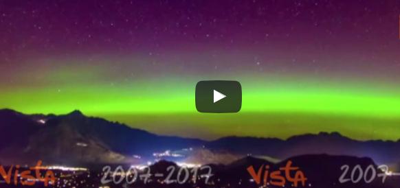 Gli straordinari colori dell'aurora astrale filmati in Nuova Zelanda (video)