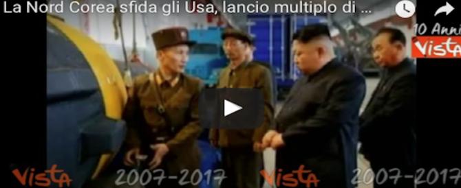 Kim Jong Un non sente ragioni: nuovo lancio di missili terra-aria. Il 4° in un mese (VIDEO)