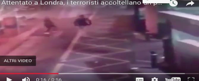 Attentato di Londra, altri 3 arresti. In un video le immagini degli ultimi minuti di sangue (VIDEO)