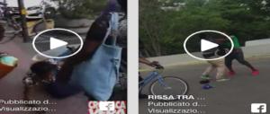 Risse in strada tra immigrati violenti: Padova e Reggio Emilia diventano il Niger (2 VIDEO)