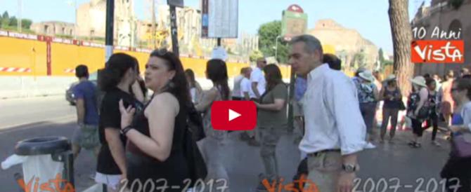Maratone e cortei, Roma si prepara al caos: ecco come spostarsi (VIDEO)