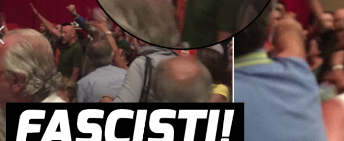 Bucci, saluti romani a Genova: la sinistra va in tilt. È paura di perdere?