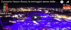Concerto di Vasco Rossi, cresce l'attesa: ecco le immagini aeree delle prove (VIDEO)