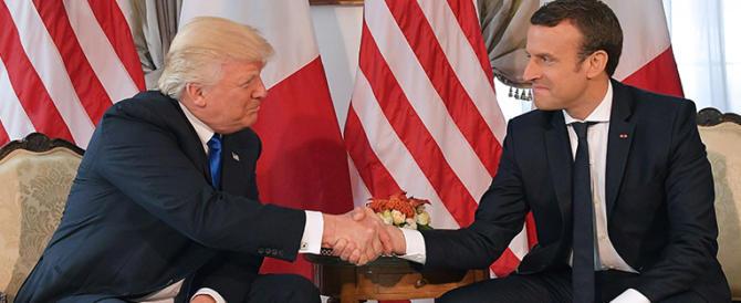 Trump accetta l'invito di Macron: «Sarà a Parigi per la festa del 14 luglio»