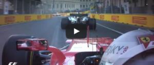 """Pazza Formula 1: lite in pista, Vettel """"sperona"""" Hamilton (video)"""
