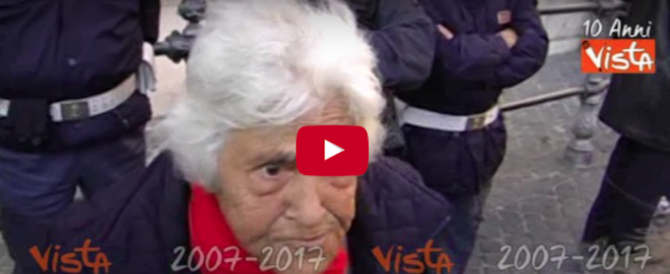 Addio ad Annarella, voce del popolo e fustigatrice di politici (video)