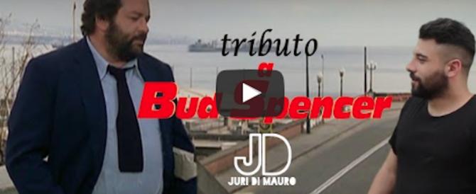 Bud Spencer: un video e una strada per il gigante buono che amava la destra
