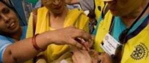 Campagna Rotary contro la polio: salvati due miliardi e mezzo di bambini