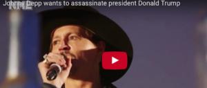 Johnny Depp provoca: «A Trump ci penso io». E i fan lo fischiano (video)