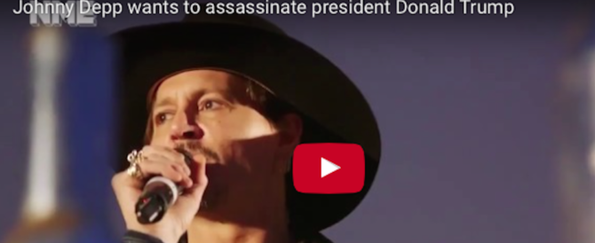 Johnny Depp provoca: «A Trump ci penso io». E i fan lo fischiano (video)