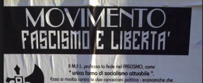 """""""Fascismo e libertà"""" prende voti nel Bresciano, il Pd scatena l'inferno"""