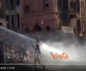Gay Pride vietato in Turchia, la polizia usa idranti e lacrimogeni (video)