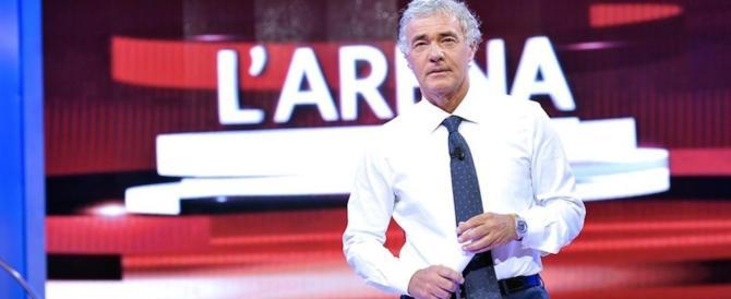 """L'Arena di Giletti sparisce, Fazio viene """"premiato"""". Polemiche di fuoco"""